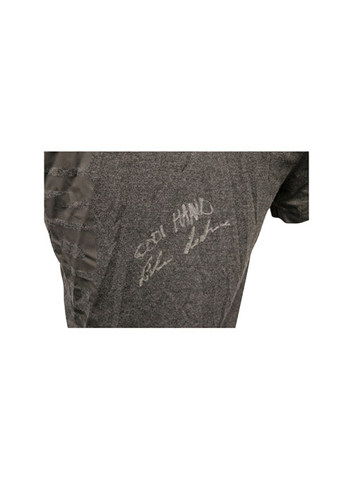 "Luke Sanders Autographed Event Worn Jersey, Inscribed ""Cool Hand"", from UFC on Fox 29 - Glendale"