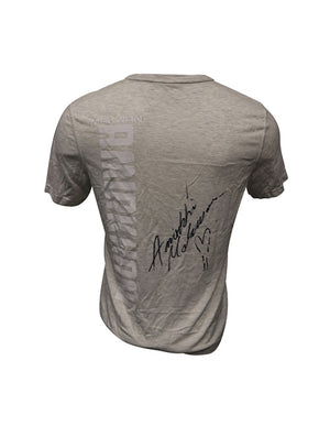 Makwan Amirkhani Autographed Event Worn Jersey from Fight Night 130 - Liverpool