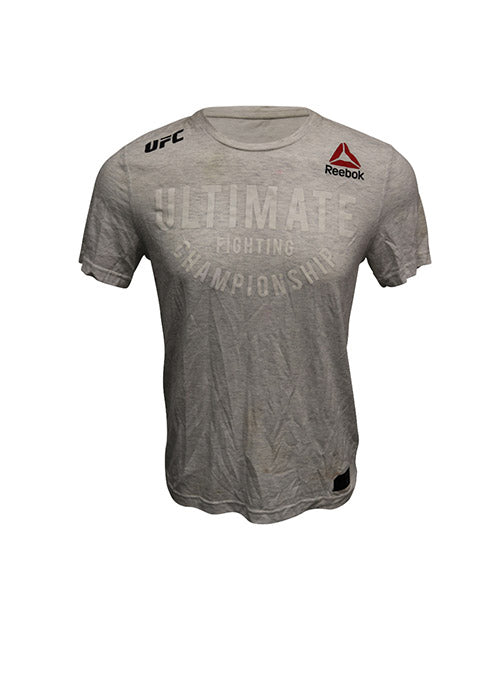 "Mirsad Bektic Autographed Event Worn Jersey, Inscribed ""UFC 225, Top 10 Baby"", from UFC 225"