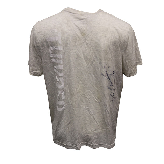 "Tai Tuivasa Autographed Event Worn Jersey, Inscribed ""Bam Bam"" from UFC 221"