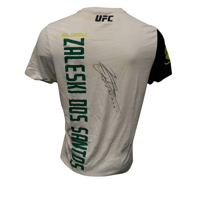 Elizeu Zaleski dos Santos Autographed Event Worn Jersey from UFC on Fox 25 - Long Island