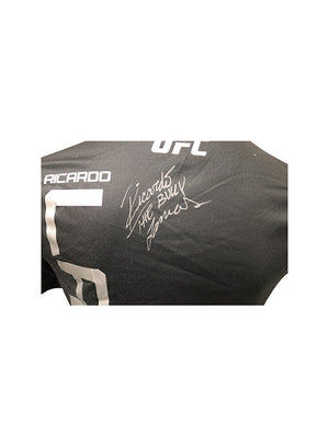 "Ricardo Lamas Autographed Event Worn Jersey, Inscribed ""The Bully"", from TUF Latin America 3 Finale - Mexico City"