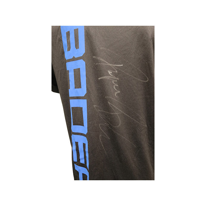 Ryan Bader Autographed Event Worn Jersey from UFC Fight Night 93 - Hamburg