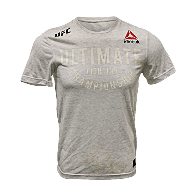 Manel Kape Autographed Event Worn Jersey from UFC Fight Night: Overeem vs Volkov