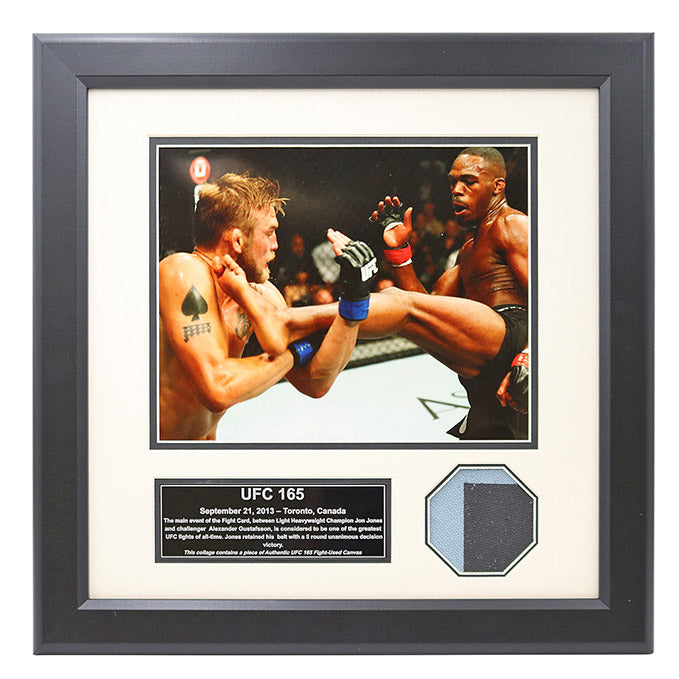 UFC 165 Fight Used Octagon Framed Collage