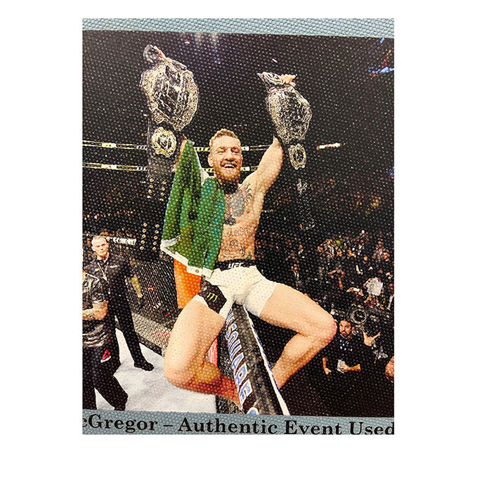 UFC 205: Alvarez vs McGregor Framed Event Image Printed Directly onto Authentic Event Used Canvas