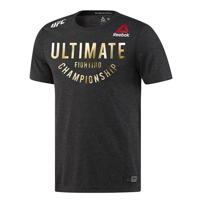 Custom Men's Reebok Champion Authentic UFC Fight Night Walkout Jersey