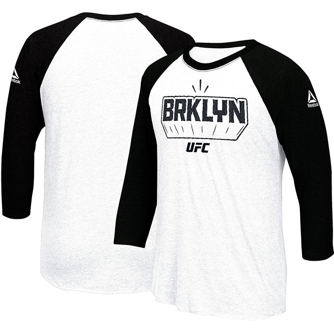Official Men's Reebok UFC Fight Night Brooklyn Weigh-In Influencer T-Shirt