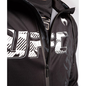 UFC VENUM Authentic Fight Week Men's Black Full-Zip Hoodie