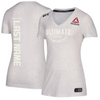 Custom Women's Reebok Chalk Authentic UFC Fight Night Walkout Jersey