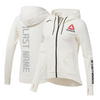 Custom Women's Reebok Chalk UFC Fight Night Walkout Hoodie Replica