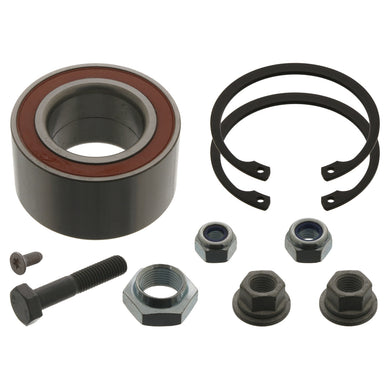 Front Wheel Bearing Kit Inc Additional Parts Fits Volkswagen Caddy Co Febi 03662