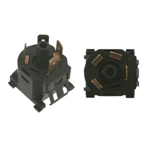 Heater & Ventilation Fan Switch Fits Volkswagen Caddy Eurovan Golf Ca Febi 14076
