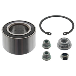 Wheel Bearing Kit Inc Axle Nut Nuts & Circlip Fits Volkswagen Bora 4m Febi 14250