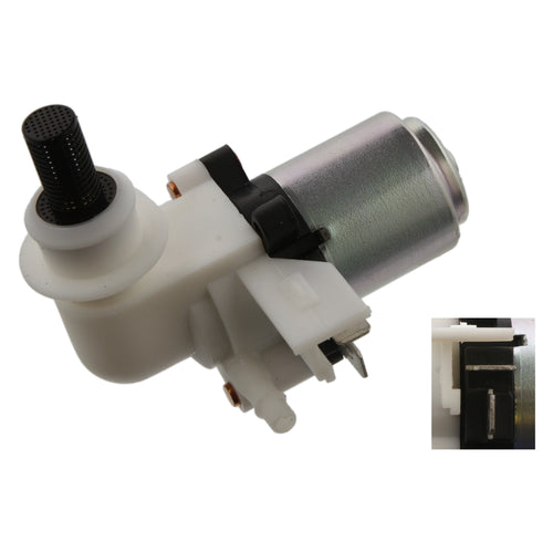 pack of one febi bilstein 12793 Washer Pump for windscreen and headlight-washer system