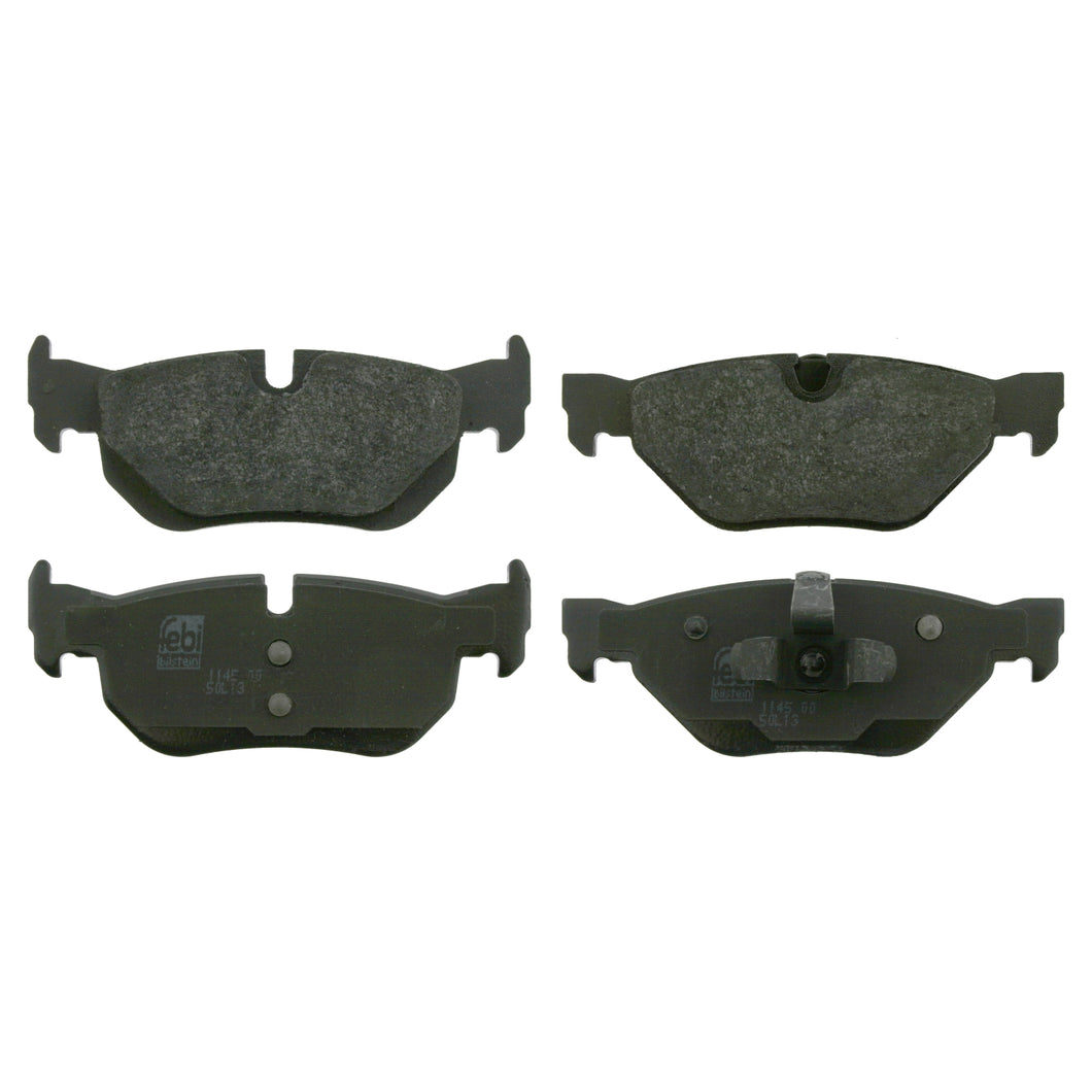 Rear Brake Pad Set Fits BMW 1 Series E81 E82 E87 LCI E88 3 E90 E91 E9 Febi 16533