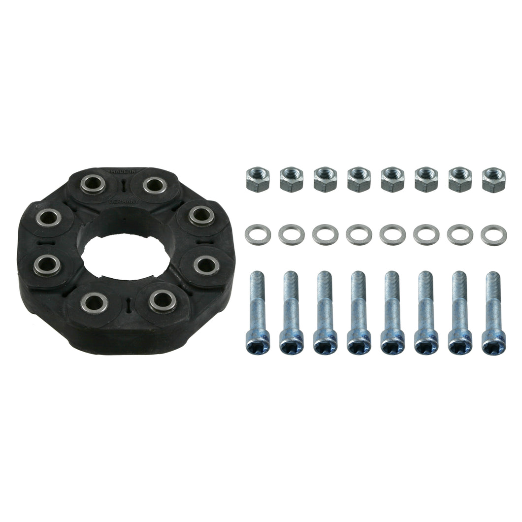Propshaft Flexible Coupling Kit Fits Mercedes Benz C-Class Model 203 Febi 21199