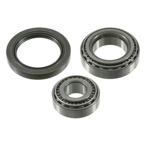 Front Wheel Bearing Kit Inc Shaft Seal Fits Mercedes Benz C-Class Mod Febi 27311