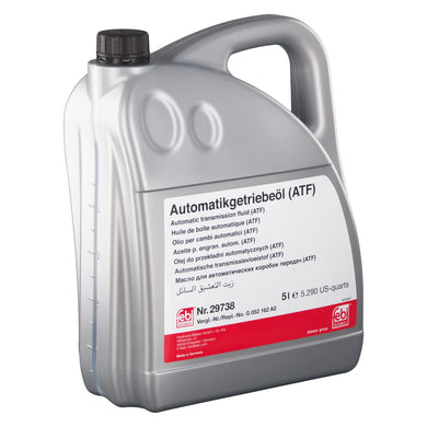 Automatic Transmission Fluid (ATF) Fits Volkswagen Bora 4motion Varia Febi 29738