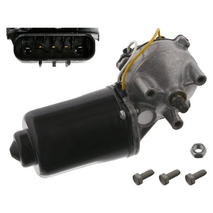 Front Wiper Motor Inc Additional Parts Fits Vauxhall Corsa Tigra Comb Febi 33748