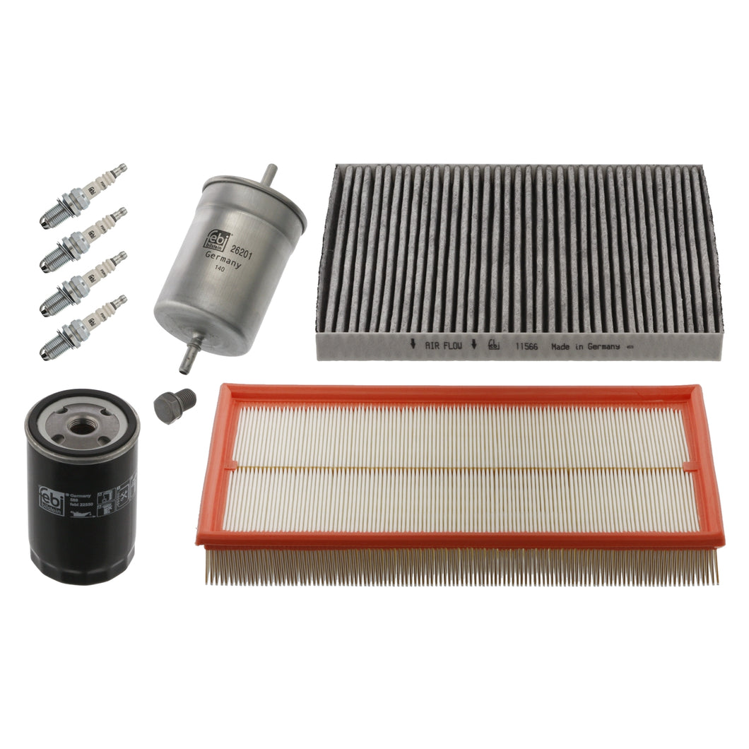 Filter Service Kit Fits Vw Volkswagen Golf Mk4 4Motion Bora Febi 36104