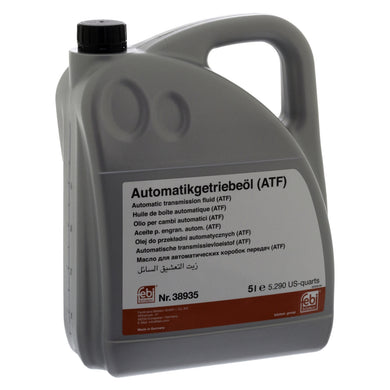 Automatic Transmission Fluid (Atf) Fits Ford OE G055005A2 Febi 38935