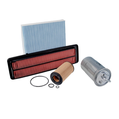 Filter Service Kit Fits Honda Accord Aerodeck Blue Print ADH22121