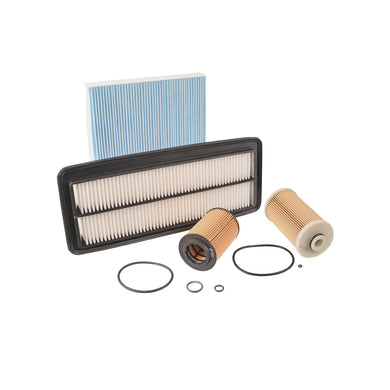 Filter Service Kit Fits Honda Accord Tourer Blue Print ADH22122