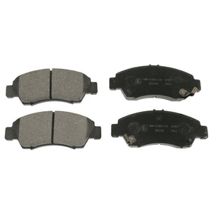 Front Brake Pad Set Fits Honda City Civic 4WD CRX Fit 4WD In Blue Print ADH24253