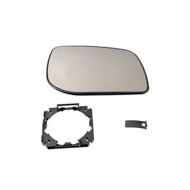 Right Exterior Mirror Mirror Glass Fits Land Rover Range II Blue Print ADJ139704
