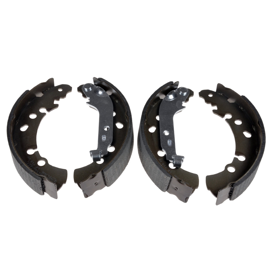 Rear Brake Shoe Set Fits Toyota Yaris Daihatsu Blue Print ADT34179
