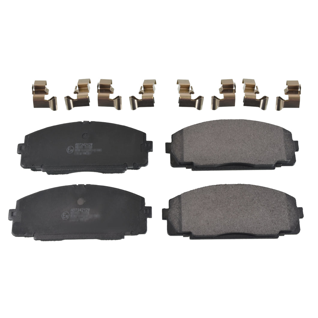 Front Brake Pad Set Fits Toyota Dyna Hiace OE 446526250 Blue Print ADT342128