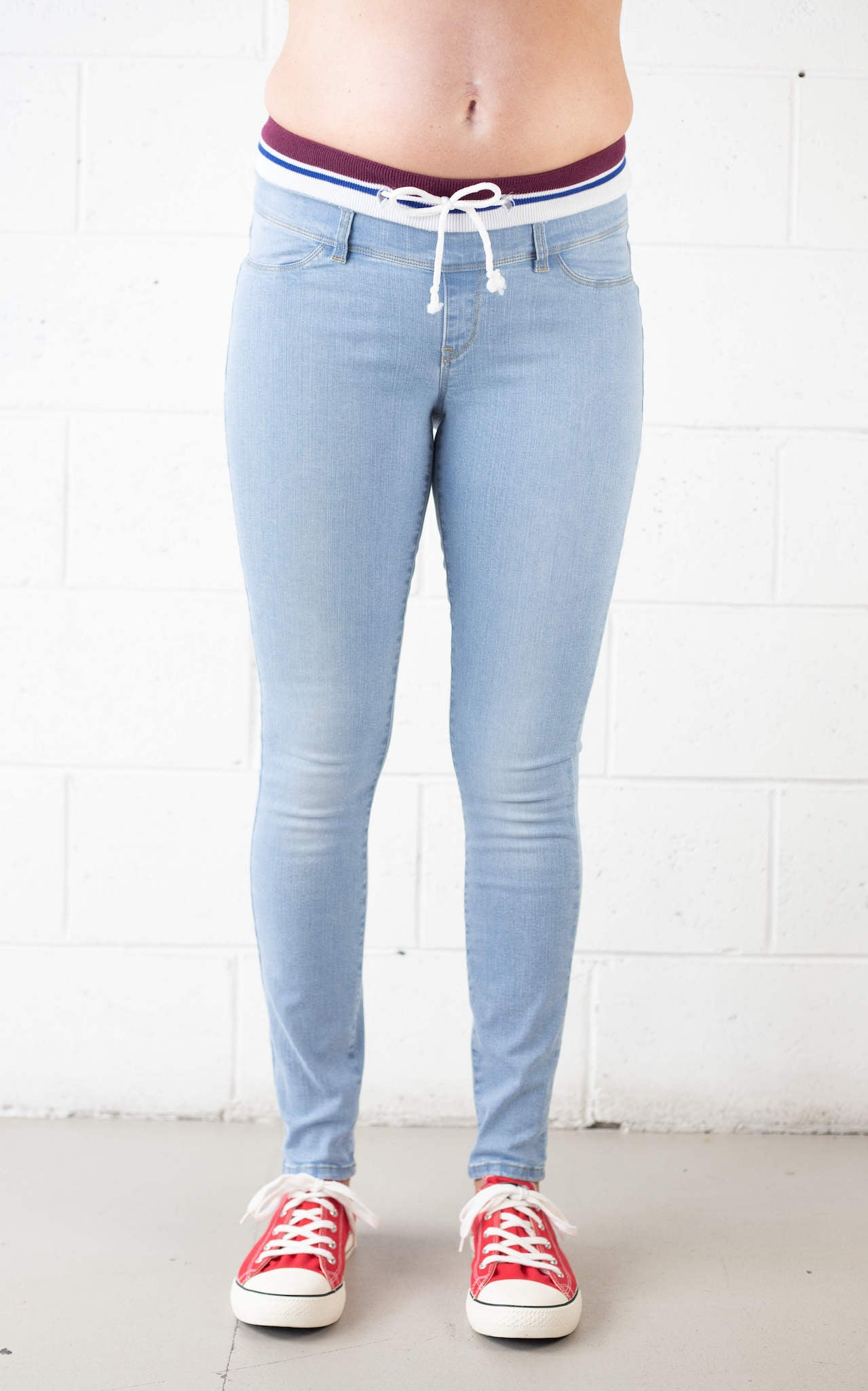 Comfortable Stretch Maternity Denim Jean