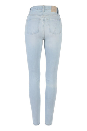 Freedom Middy Waist Skinny Leg - Bliss Vintage Blue