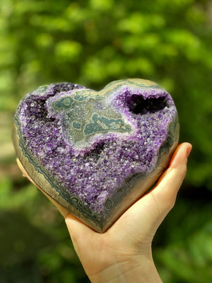 Amethyst Tranquility Heart