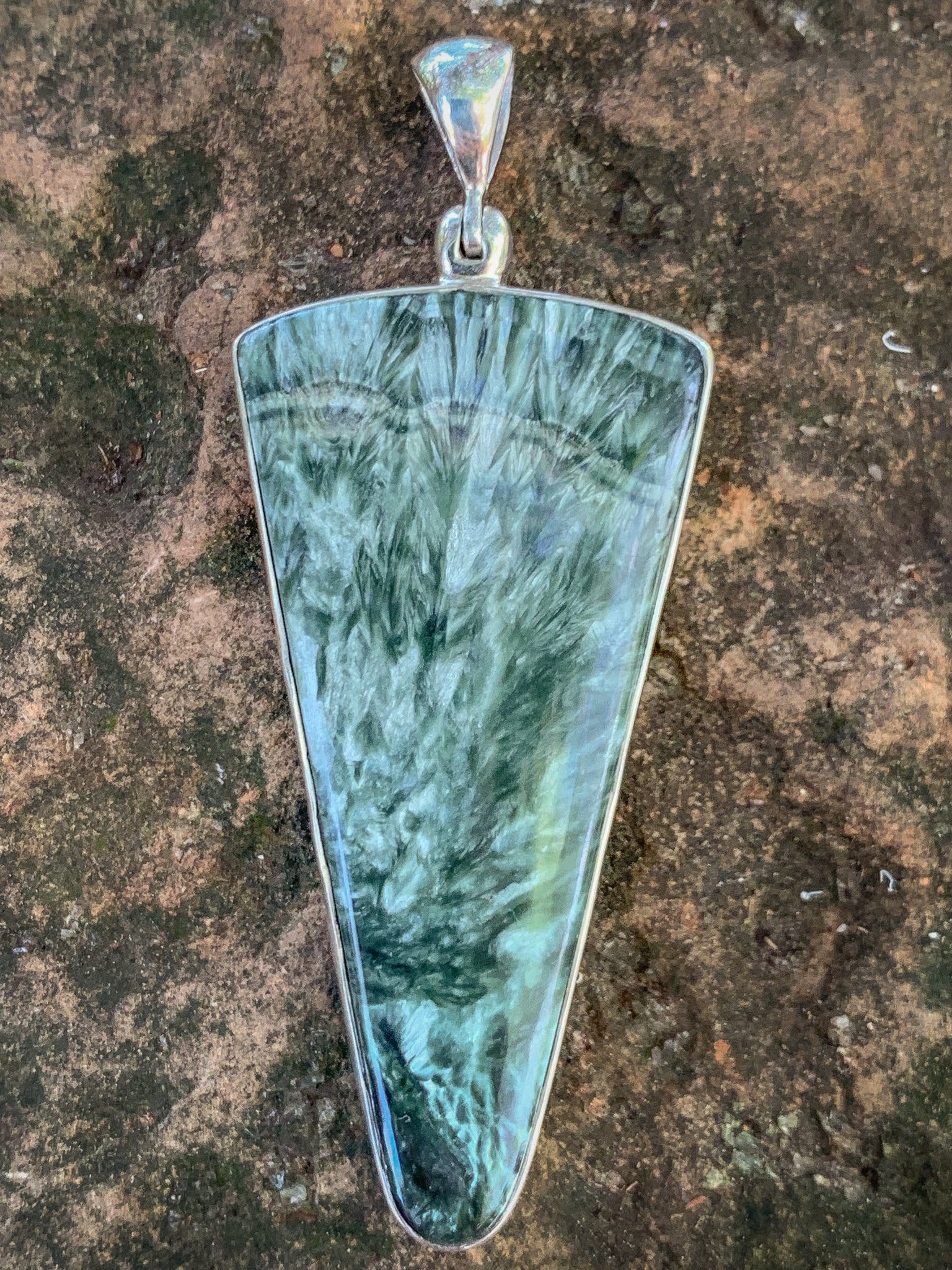 Heavenly Seraphinite Pendant