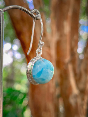 Larimar Tranquility Earrings