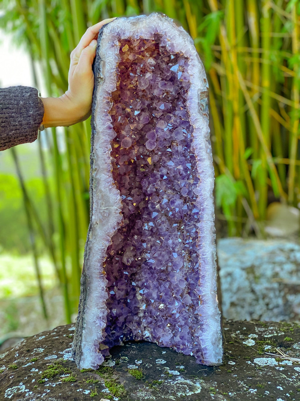 Amethyst Geode of Magic