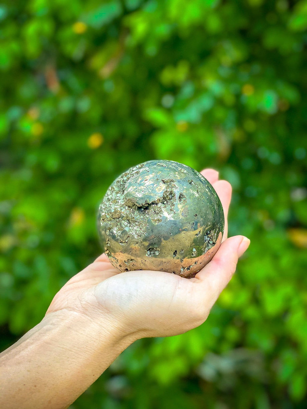 Empowering Pyrite Sphere