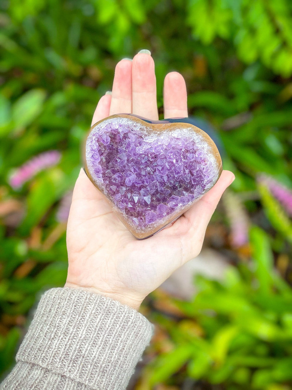 Amethyst Tranquillity Heart