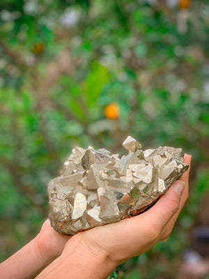 Pyrite Power Cluster