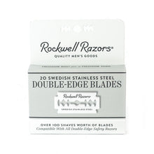 Load image into Gallery viewer, Rockwell Razor Blades - Package of 20 Blades
