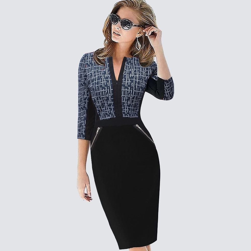 Plus Size Business Dress