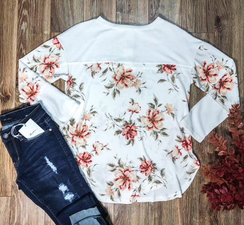 Ivory Button Longsleeve