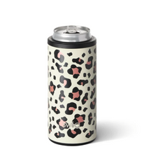 Load image into Gallery viewer, Luxy Leopard Skinny Can Cooler