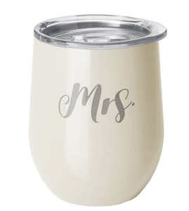 Pearl Mrs. Swiglife Stemless Wine Cup