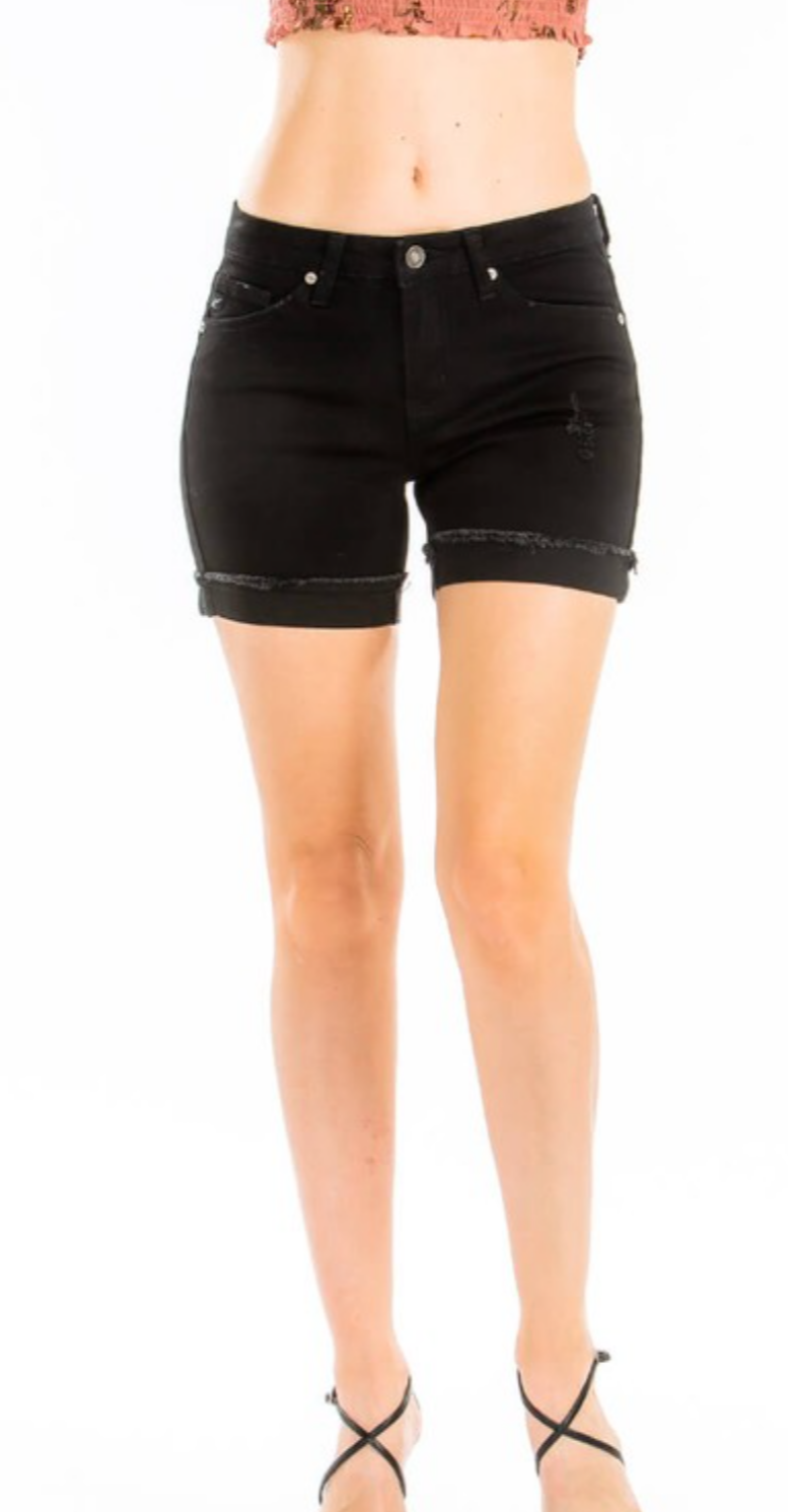 Basic Black Kancan Shorts