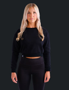 RELIVE CROP SWEATER