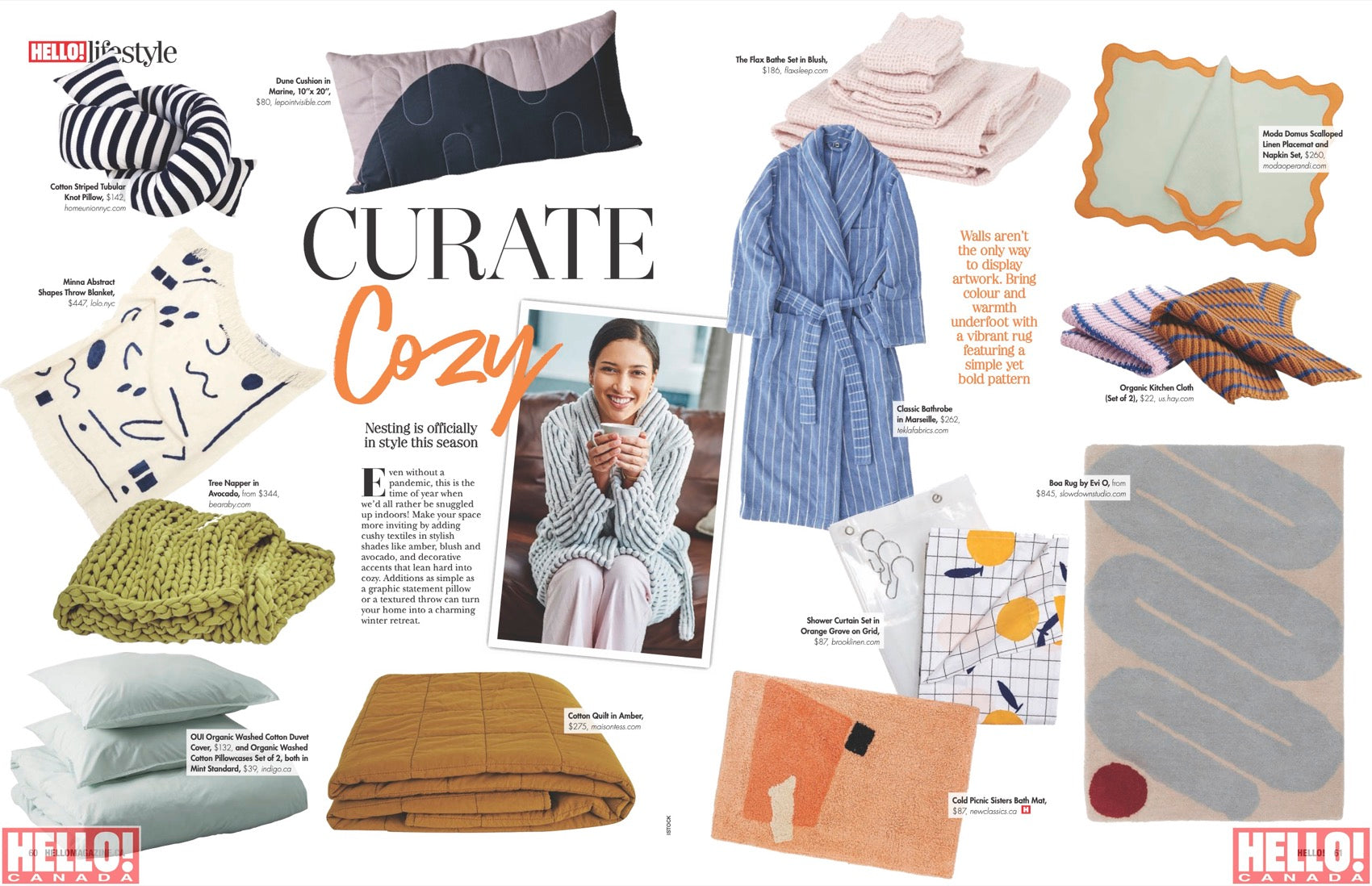 Curate cozy