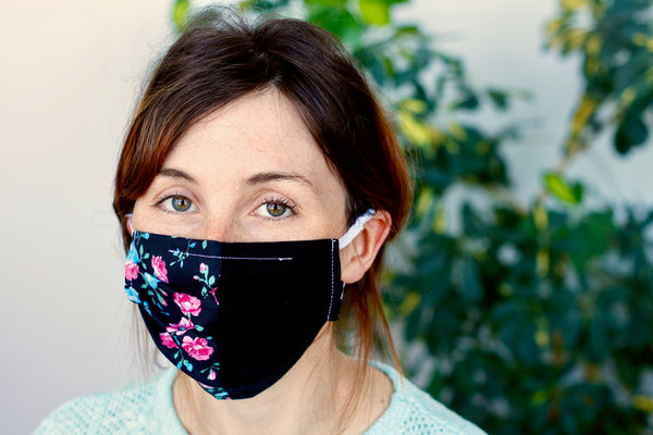 Two-color reusable mask